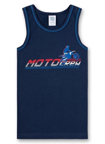 Shirt w/o sleeves w.print