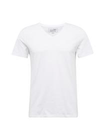 T-Shirt 1/2 v-neck - 2000/white