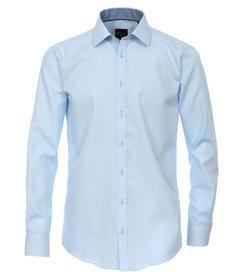 Venti Hemd Slim Fit Größe 41 - Hellblau - 100% Baumwolle