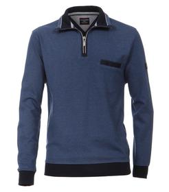 CASAMODA Sweat-Shirt Troyer unifarben