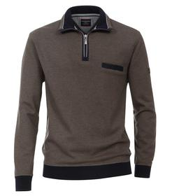 CasaModa Sweat-Shirt Troyer uni