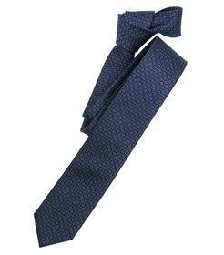 Venti Krawatte Einheitsgröße - Dunkelblau - 100% Seide
