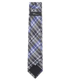 Venti Krawatte Einheitsgröße - Blau - kariert