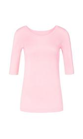 Basic-Ripp-Shirt aus Baumwolle