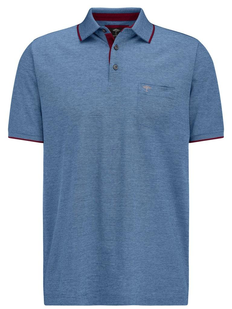 Polo, 2-Tone, Pocket, Merceriz - 1632/midnight