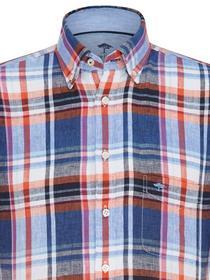Linen Combi Shirt, B