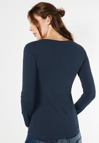 Langarmshirt Basic Style Iva - night blue