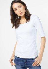 Organic Halbarm Shirt Lenka - White