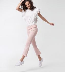 Jeans ausgestellt mit Fransen
