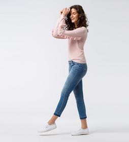 Pullover mit tiefem Rückenausschnitt