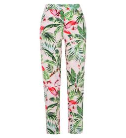 Pants slouchy printed conical elast