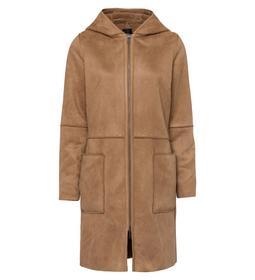 Fake Sheraling Coat, front zipper a