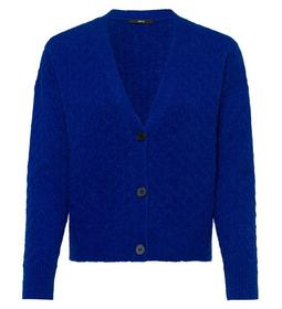 Cardigan, structured, with buttons