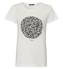 Jersey T-shirt palcement print circ