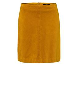 Casual Skirt Corduroy Fabric A-Line