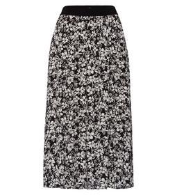 Skirt printed midi -  82cm - 6002/black