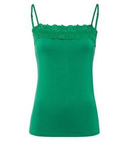 T-Shirt Top Lace Trimming Adjustabl e - 70027/brig