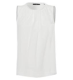 Shirtblouse Merle Pleats Rd-Nk 0/0 - 5282/offwhite
