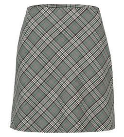 A-line Mini skirt woven check