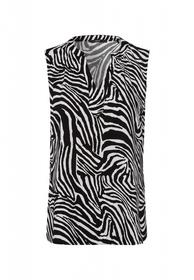 Bluse mit Zebramuster