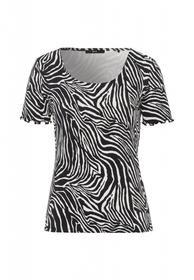 Shirt mit Zebramuster
