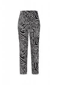 Jogpant mit Zebramuster