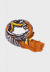 Schal Viereck mit Zebra Print
