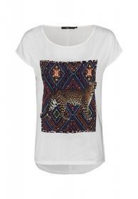 Shirt mit Leopardenaufdruck