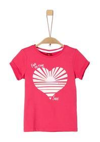 T-SHIRT KURZARM - 4517/pink