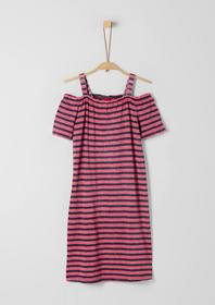 KLEID KURZ - 58G4/dark blue stripes