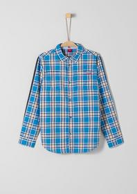 HEMD LANGARM - 55N2/blue check