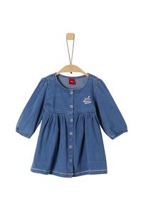 KLEID KURZ - 55Z7/blue denim