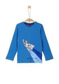 T-SHIRT LANGARM - 5545/blue