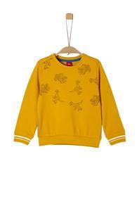 Sweatshirt langarm - 1549/golden yel