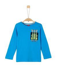 T-Shirt langarm - 6290/turquoise