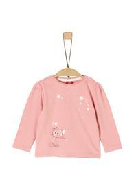 T-Shirt langarm - 4257/dusty pink