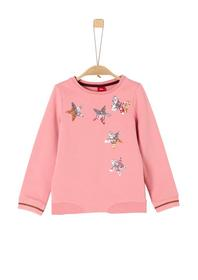 Sweatshirt langarm - 4273/light pink