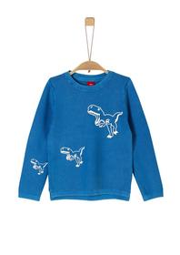 Pullover langarm - 5545/royal blue