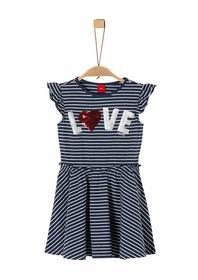 Jerseykleid mit Pailletten