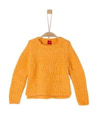 PULLOVER LANGARM - 1438/dark yellow