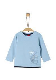 T-Shirt langarm - 5312/pacific bl