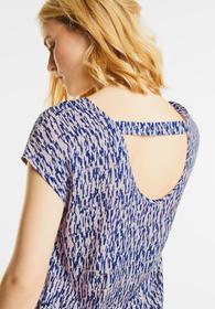 Bluse mit Rückenausschnitt