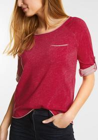 3/4-Arm Melange Shirt Mailin