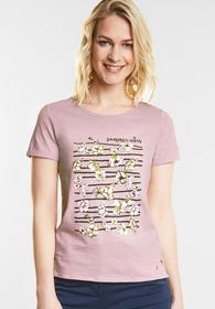 Weiches Frontprint Shirt