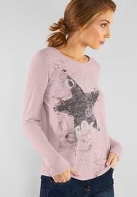 Cosy Pailletten-Shirt
