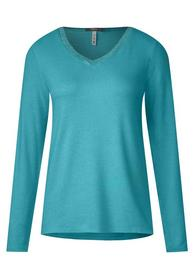 Cozy knit shirt