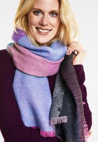 Color Blocking Schal