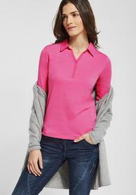 Polo Shirt mit 3/4 Ärmeln