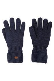 Handschuh Strick Blau Blau/dunkel M