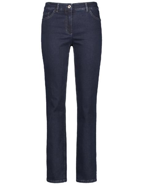 STRAIGHT FIT Hose Jeans lang